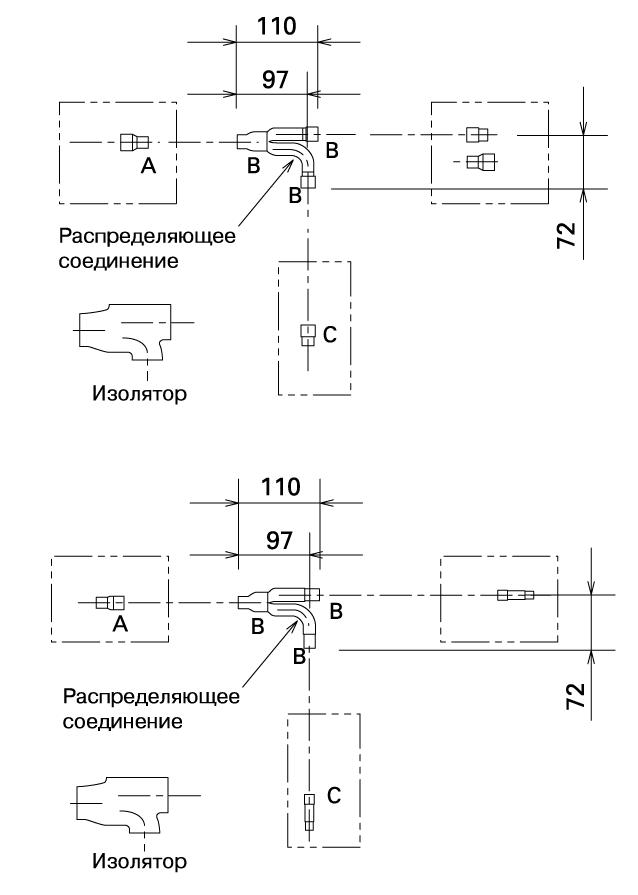 Комплект соединительных элементов для трубопроводов