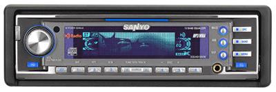 CD/CD-R/-RW/MP3-ресивер Sanyo ECD-HD1990M