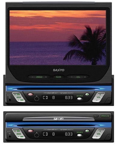 Автомобильный мультимедийный центр Sanyo