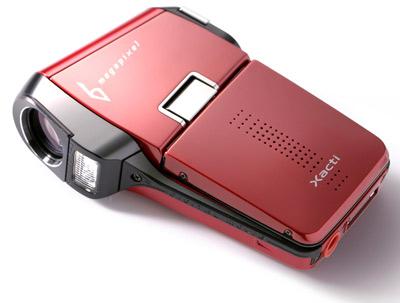 Цветовое исполнение Xacti C6:  красный