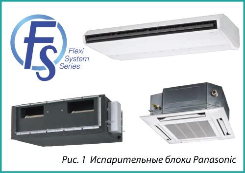 Испарительные блоки Panasonic