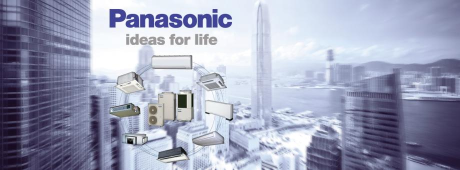 Климатическая техника Panasonic - VRF, полупромышленные и бытовые кондиционеры