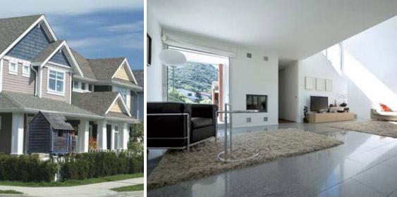 внешний блок кондиционера может обслуживать как одноэтажные, так и многоэтажные дома