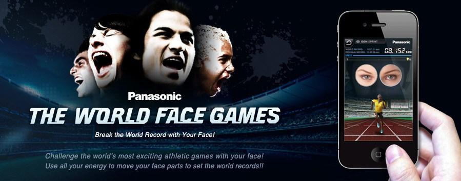 Panasonic - THE WORLD FACE GAME