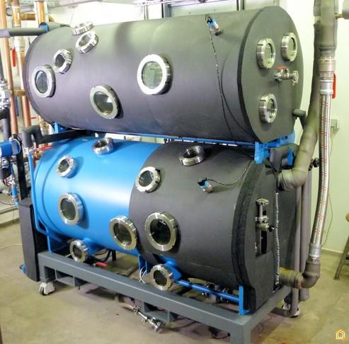 Прототип бромистолитиевого абсорбционного чиллера мощностью 50 кВт