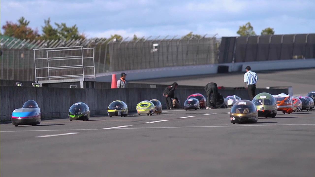 Rechargeable EVOLTA Powers в гонке Ene-1 GP на треке в Мотеги