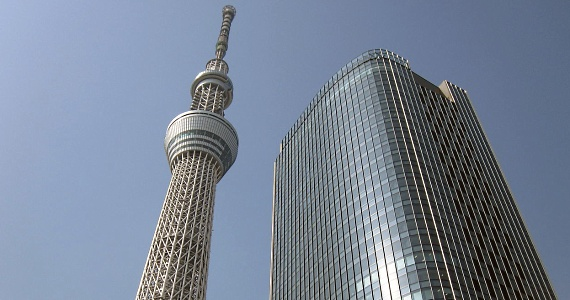 Tokyo Sky Tree and East Tower