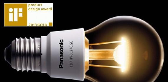 Светодиодная лампа 'Nostalgic Clear' от Panasonic