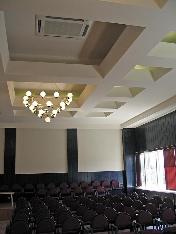 система кондиционирования конференц-зала с применением систем Sanyo Package