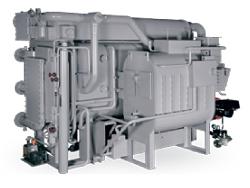 WCDR - абсорбционный чиллер прямого нагрева, двухступенчатый, серия R