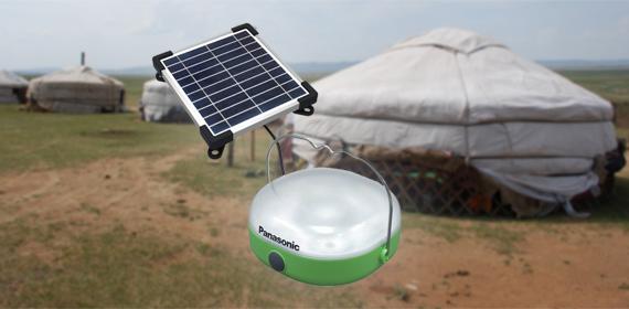 Солнечный фонарь Panasonic