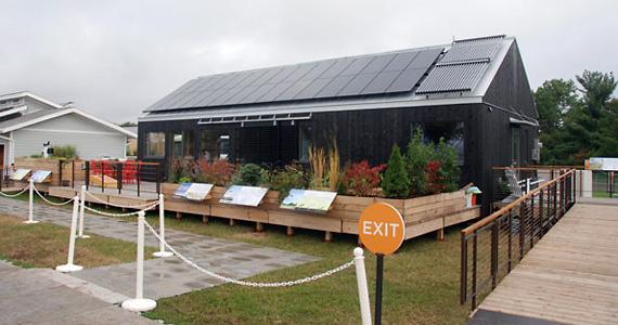 фотоэлектрические системы установлены на крыше