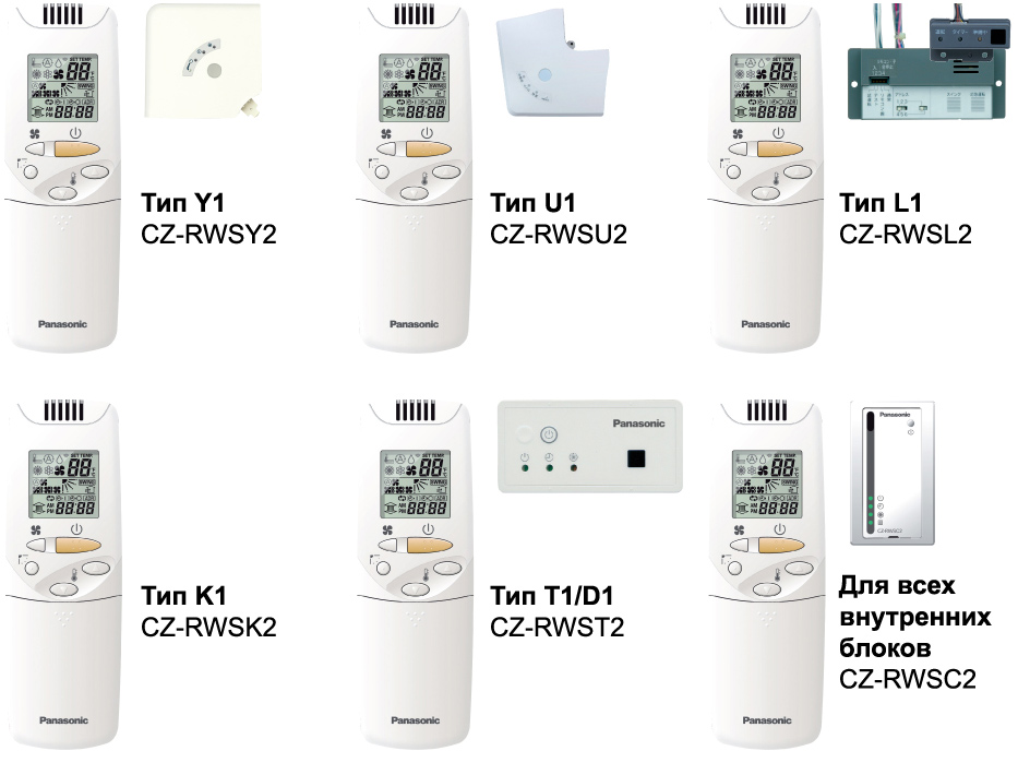 Беспроводной пульт ДУ CZ-RWSY2 CZ-RWSU2 CZ-RWSL2 CZ-RWSK2 CZ-RWST2 CZ-RWSC2