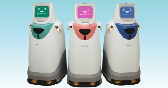 робот HOSPI от Panasonic