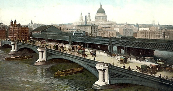 Blackfriars Rail Bridge