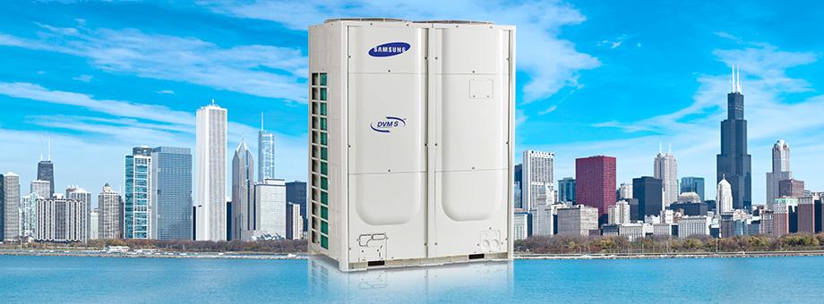 Мультизональные системы кондиционирования DVM S Samsung