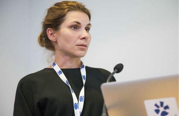 Мария Цвирко, технический эксперт белорусской компании Mavitech на конференции ATMOsphere Europe 2017 в Берлине, Германия