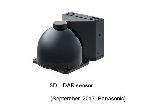 Внешний вид сенсора 3D LiDAR
