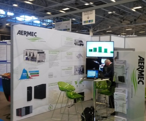 Aermec на Data Center World 2017