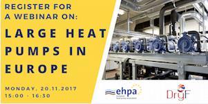 """Регистрируйтесь на вебинар """"Большие тепловые насосы в Европе"""""""