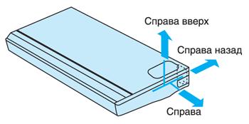 Вывод трубопровода в трех направлениях